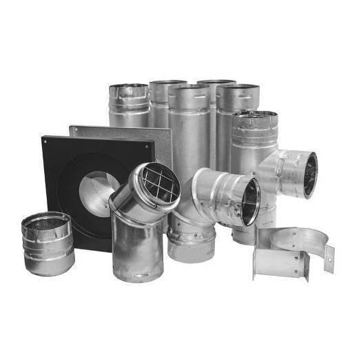 Simpson Dura-Vent 3-inch Pellet Stove Vent Kit (For England Stoves and others)