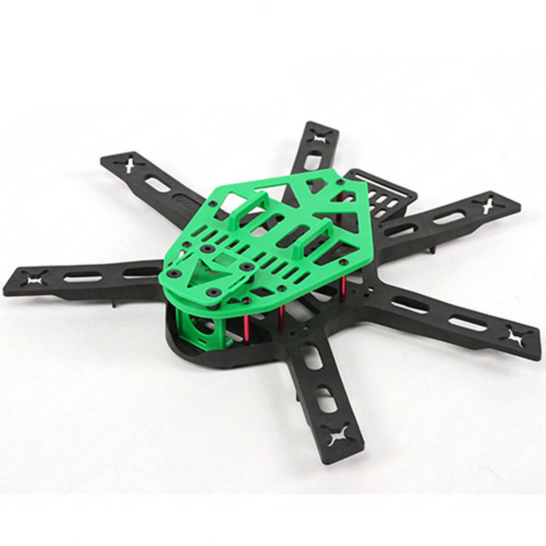 Mini KingKong 300mm Hexacopter Frame Kit with PDB w/ LEDs USA Seller 300 Class