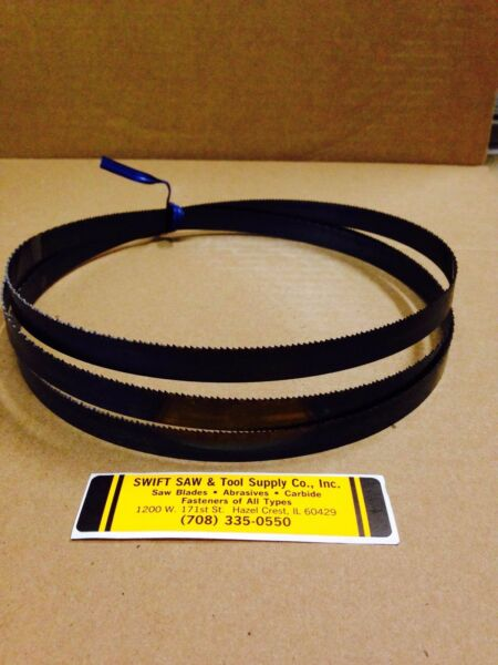 98.5quot; 8#x27;2.5quot; X 1 2 X .025 X 18T CARBON BAND SAW BLADE DISSTON USA $26.40