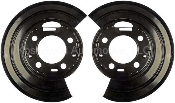 Ford F250 Rear Disc Brake Dust Shield Pair Super Duty Excursion Dorman 924-212