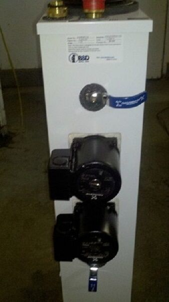 Bamp;D QT 2 pump QT2 230QFC Non pressurized geothermal flow center Geo Thermal $956.00