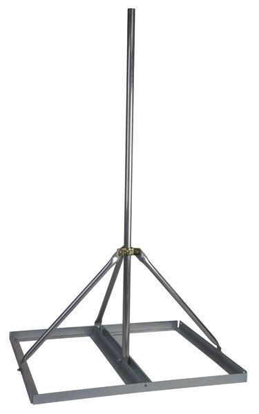 Non Penetrating Antenna Mast Roof Mount with 2quot; x 72quot; Mast EZ NP 72 200 $132.99