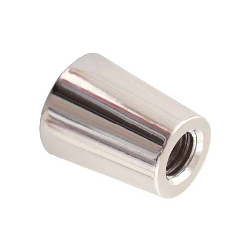 BEER TAP FERRULE SILVER STANDARD SIZE FOR MOST BEER FAUCET HANDLES PULL LEVERS