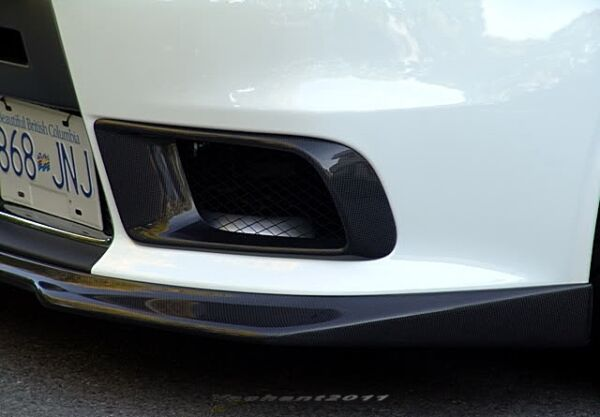 Carbon Kit For Mitsubishi Evolution EVO 10 X RA Style Front Bumper Air Duct $219.00