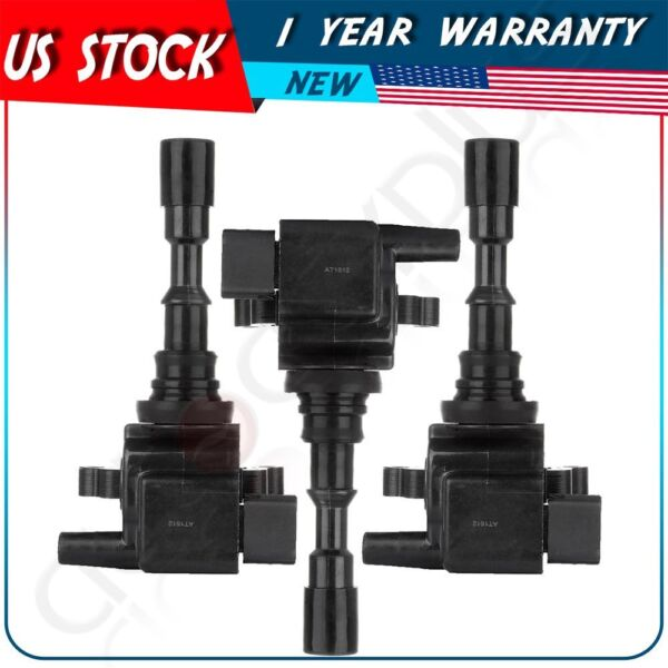 3pack  NEW Ignition Coil on Plug Ignition Coil for 3.5L V6 For 03-06 Kia Sorento