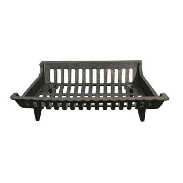 Open Hearth Collection Cast Iron Fireplace Grate Heat Home Logs Wood 3 Sizes NEW