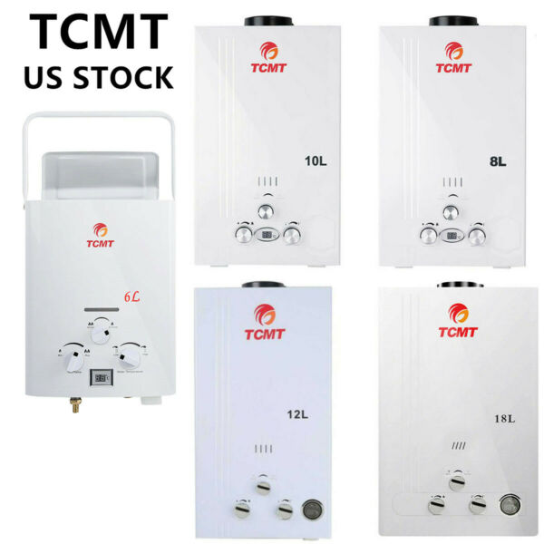 New 6 8 10 12 18L LPG Gas Instant Boiler Propane Tankless Home Hot Water Heater $89.99