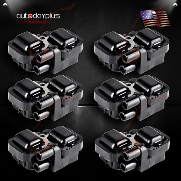Set of 6 Ignition Coils Pack for 98-06 Mercedes-Benz C CL CLK ML Class UF359