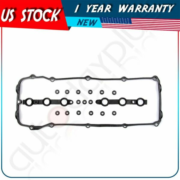 New Valve Cover Gasket Set & Seals Fits 2002-2006 BMW E46 E53 E60 E83 E85 X3 Z4