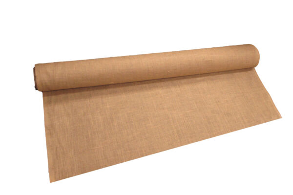 LA Linen Prepackaged Natural Burlap Fabric 60-Inch Wide.