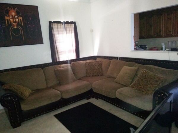 Furniture sectional $500.00