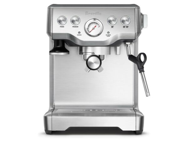 Breville The Infuser Espresso Cappucino with Steam Coffee Machine BES840XL 110 V