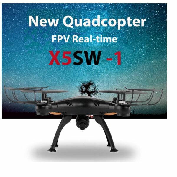 New X5SW-1 Wifi FPV 2.4Ghz 4CH RC Quadcopter Drone with 200W  HD Camera