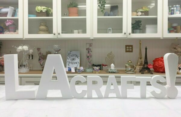 Smooth Foam Letters - 12