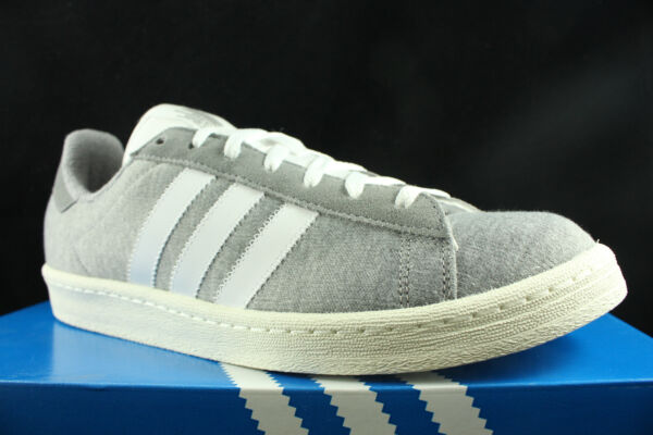 ADIDAS CAMPUS 80'S BW BEDWIN AND THE HEART BREAKERS GREY WHITE S75675 SZ 13