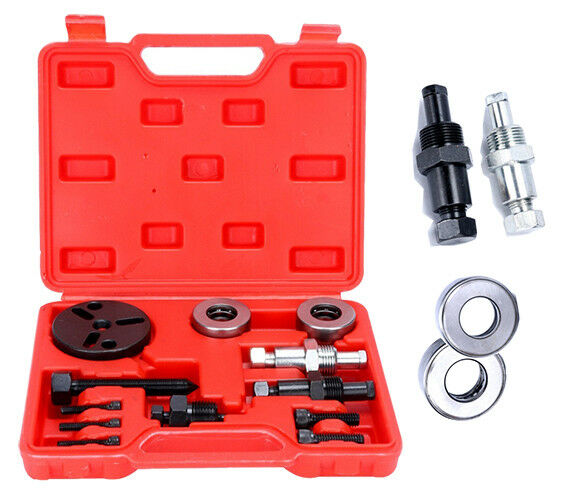 A/C Compressor Clutch Install Remover Puller Kit Air Conditioner Automotive Tool
