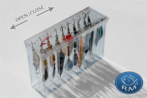 EXTRA GRAND DOUBLE RM LURE BOX MIX 258 70 170mm 20 compartments storage box case $14.90