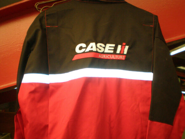 ALEXMILLS Adult Case IH Boilersuit Overalls Adults - Red With Black Adult's