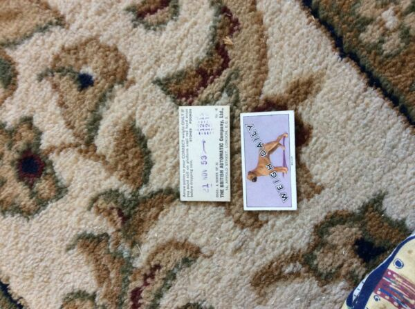 BRITISH AUTOMATIC DOGS 1ST SERIES WITH WEIGH DAILY # 06 boxer GBP 1.75