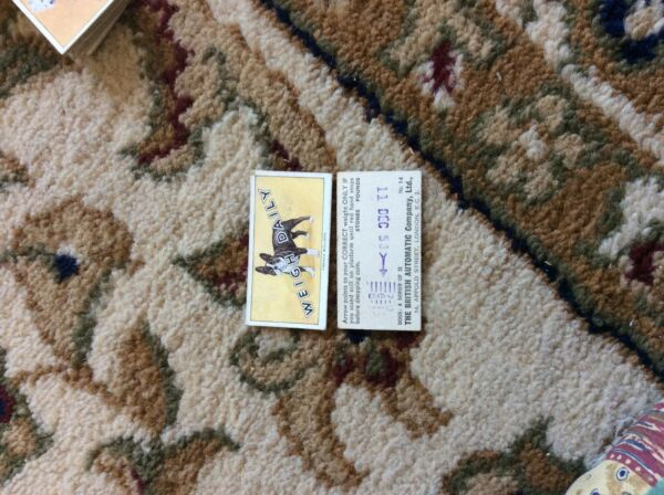 BRITISH AUTOMATIC DOGS 1ST SERIES WITH WEIGH DAILY # 14 french bulldog GBP 1.75