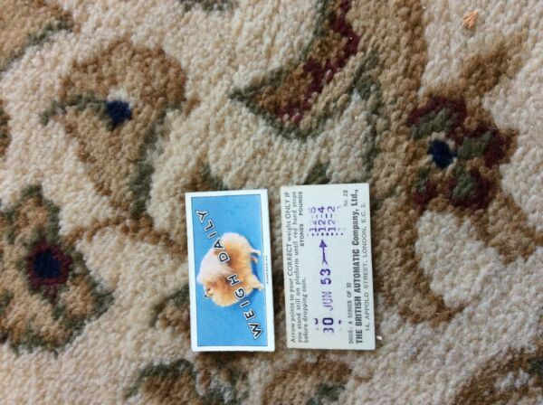 BRITISH AUTOMATIC DOGS 1ST SERIES WITH WEIGH DAILY # 22 pomeranian GBP 1.75