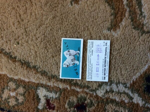 BRITISH AUTOMATIC DOGS 2nd SERIES WITH WEIGH DAILY no 28 samoyed GBP 1.75