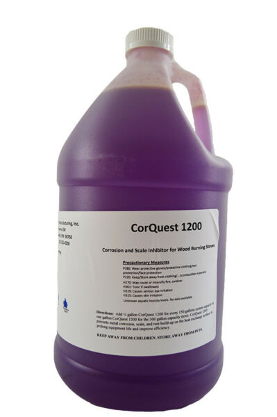 CorQuest 1200 Outdoor Boiler Anti-Corrosion Chemical Treatment for Wood Furnaces