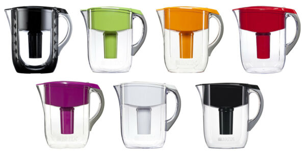 Brita 10 Cup Grand Water Pitcher with 1 Filter