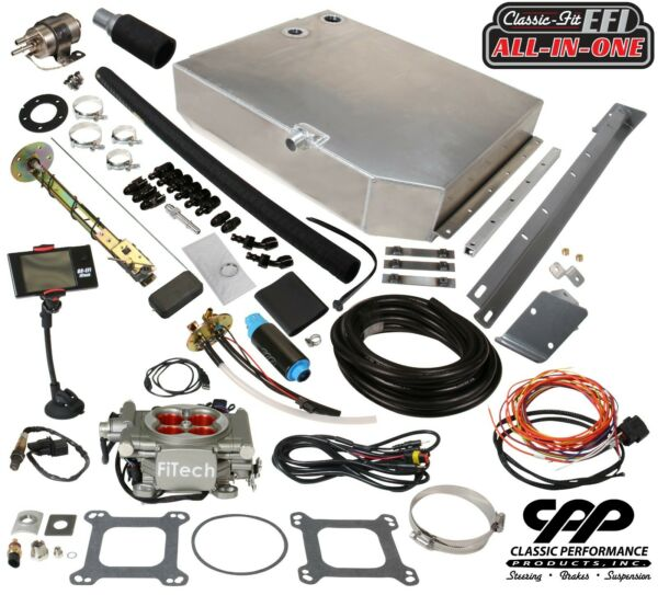 55-57 Belair FITech 30008 EFI 800 HP MeanStreet Fuel Injection Conversion Kit