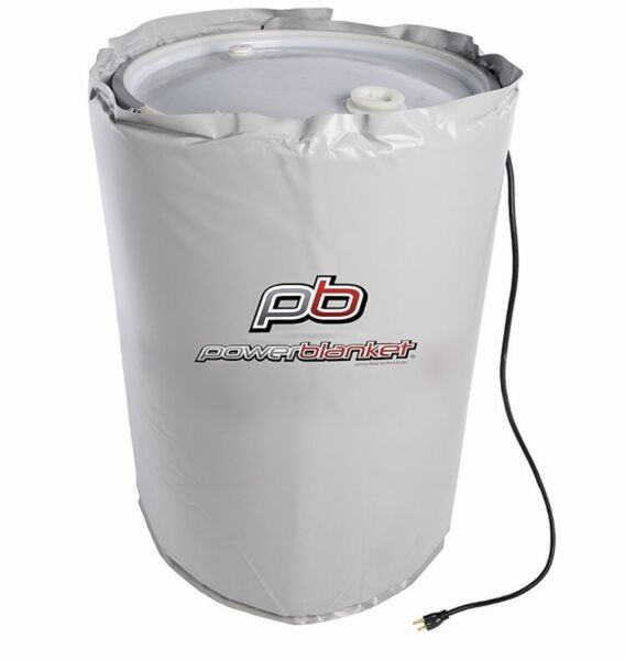Drum Heater Barrel Heater Powerblanket BH55RR-80  55 Gallon Drum Heating Blanket