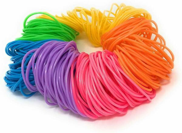 144pk Neon Jelly Bracelets Rainbow Color Birthday Party Favors Gifts Toy Prizes
