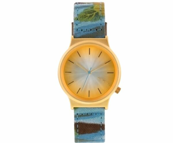Komono 37mm Wizard Print Series Watch -  Bora Bora  belguim designed Au ship