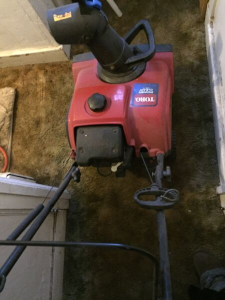 Toro Single Stage Power Clear 180 18quot;Clearing Width z3ccgx