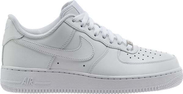 NIKE AIR FORCE 1 LOW MENS CLASSIC OG WHITE ALL LEATHER 315122-111 100% AUTHENTIC