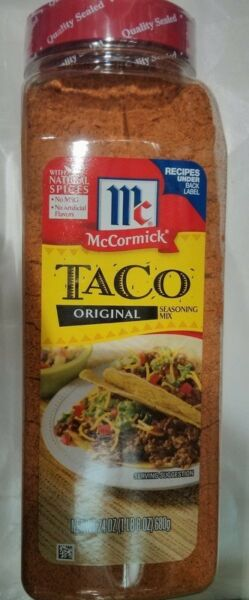 24 oz McCormick Taco Original Seasoning MixSpices for Mexican CookingFood