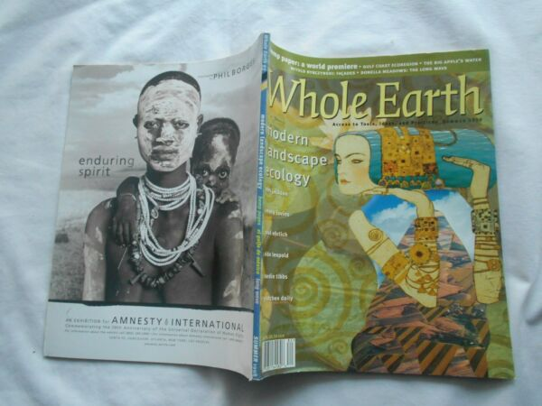 WHOLE EARTH-ACCESS TO TOOLS,IDEAS, PRACTICES-#93,1998-MODERN LANDSCAPE ECOLOGYG