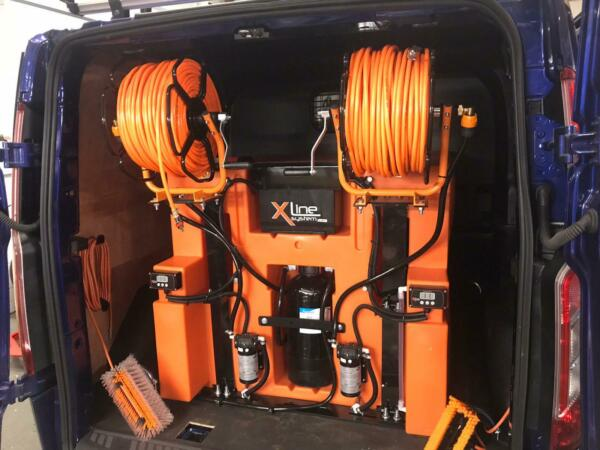 350ltr 1 Man Delivery WaterFed Pole System Brand New X-Tank - From Xline Systems