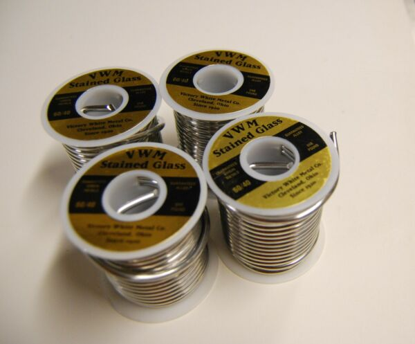 (4) LBS 6040 SOLDER - Stained Glass Supplies