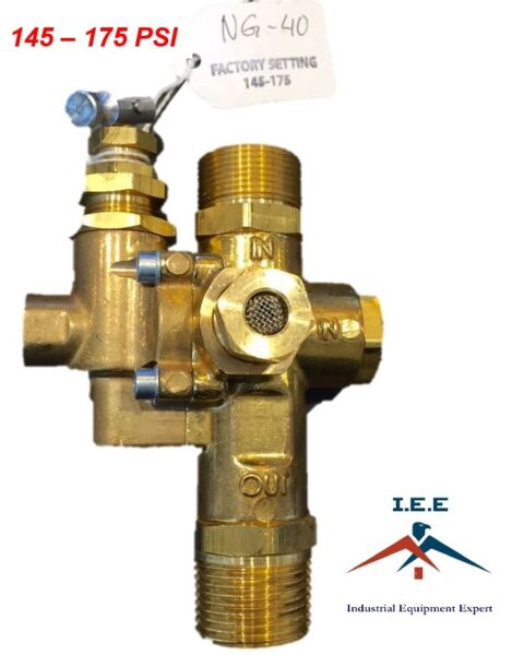 Gas Air Compressor Unloader Check Valve Combo 145 175 PSI 3 4quot; Inlet amp; Outlet $47.49