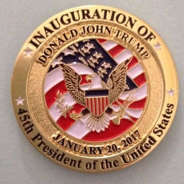 Donald Trump 45th Presidential Inauguration Lapel Pin 2017 $13.95