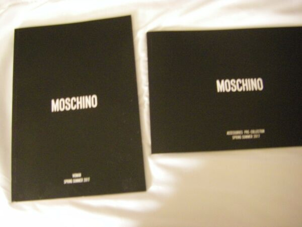 2 Moschino Catalogs Couture Spring Summer 2017 Accessories Woman#x27;s Clothing $29.99