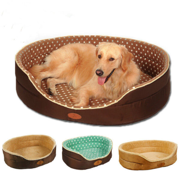 Double sided all seasons Big Size large dog bed House sofa Pet Dog Cat Warm Bed $23.72