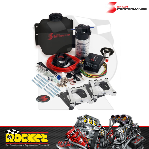 Snow Stage 2 Muscle Car NA Dual 4150 Carb Water Injection Kit RPSP220MC2