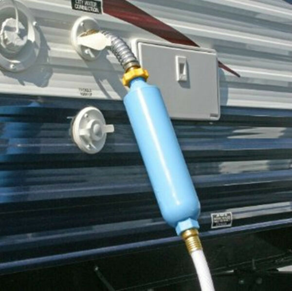 Camco RV Hot Water Heater Tank Rinser Wand Spray Clean Calcium Deposits Camper