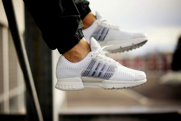 Mens Adidas Climacool 1 Clima Cool Running Sneakers New, White / Black bb0671