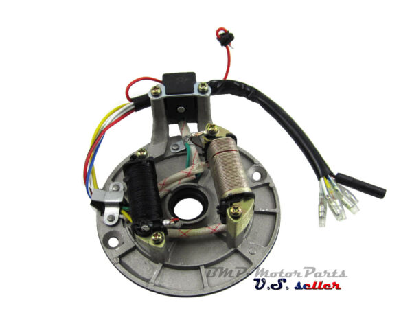 Chinese Stator Magneto 2 Coil For 50cc 110cc 125cc Dirt Bike Moped TaoTao ATV $35.99