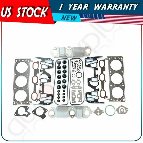 Cylinder Head Gasket Set for 2000-2005 Chevrolet Impala 3.4L V6 GAS OHV VIN E