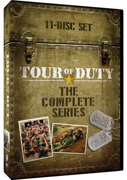 Tour Of Duty: The Complete Series - Seasons 1-3 DVD