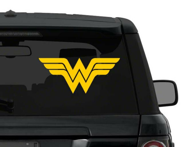 Wonder Woman decal sticker for car, laptop,yeti CHOOSE COLOR die cut vinyl