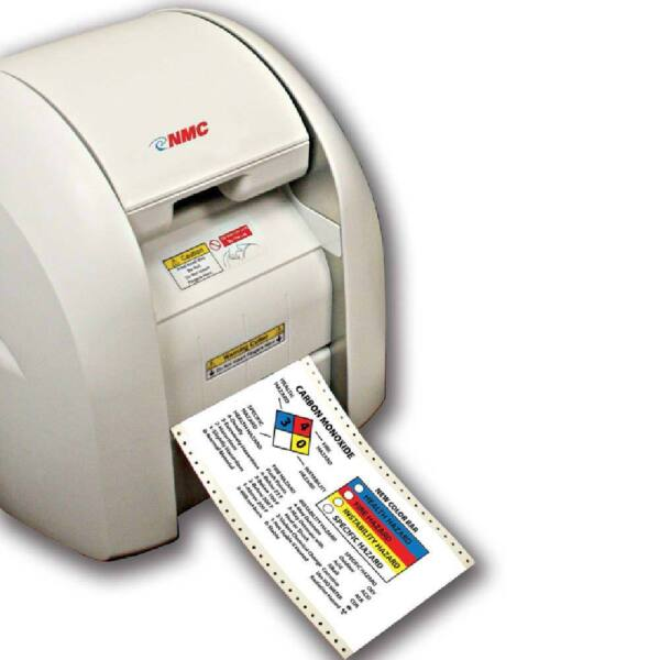 NEW NATIONAL MARKER CO. -CPM100- MULTI-COLOR DIE CUTTING SIGN & LABEL PRINTER
